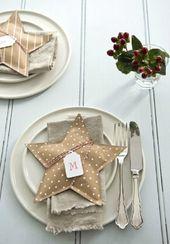 15 Weihnachtstabelleneinstellungen, um Sie als besten Gastgeber zu gewinnen