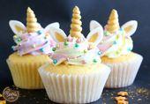 Cupcakes Licorne, le tutoriel magique – Féerie Cake Weblog