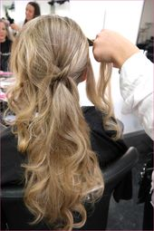 Hairstyle open curls