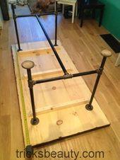 DYI table 2 liebt Beine und die Fähigkeit, die Füße hochzulegen. Ich denke, das würde in einem Kunststudio sehr gut funktionieren
