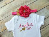 Tante Body Ich liebe meine Tante Tanten Mädchen Tante Shirt Baby Dusche Geschenk Nichte Geschenk …   – sri