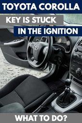 Mein Toyota Corolla-Schlüssel steckt in der Zündung – Was tun?   – VEHQ.com RV & Pickup Truck Guides
