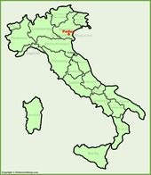 Andalo location on the Italy map Maps Pinterest Italy