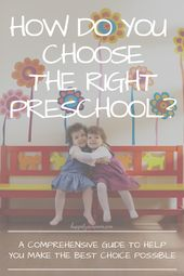 Zu welcher Vorschule sollte mein Kind gehen? Ein umfassender Leitfaden, der Ihnen hilft, die bestmögliche Wahl zu treffen   – Kid Blogger Network Activities & Crafts