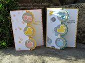 Baby Cards Zippy Stamping w/ Meri & Barb: Stampin' Up! - Something to Say, Something ab...