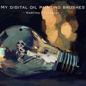 Illustrator Brushes Free Digital Oil Painting Brushes for Photoshop