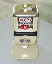 113482452 Vintage Coin Operated Boraxo Soap Vending Machine Ebay
