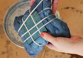 Wie erstelle ich eine karierte Shibori-Tischdecke – Tuts + Crafts & DIY Tutorial – Shibo …
