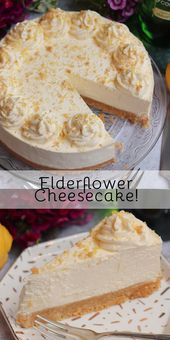 Lemon & Elderflower Cheesecake!