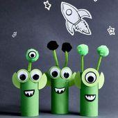 Cardboard Aliens