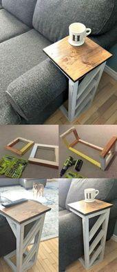 60 Ideen-Wohnzimmertabelle, zum heute zu kopieren – Heimwerken für Dummies