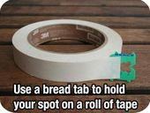 Use a Bread Tab to Find the End of the Tape