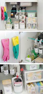 12 Amazing Kitchen Sink Organization Ideas