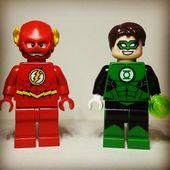 The Flash And Green Lantern Dc Lego Linterna Verde Paginas Para Colorear Para Ninos Colorear Para Ninos