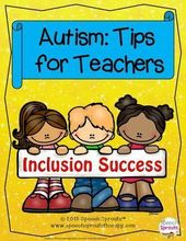 Supporting College students with Autism: 12 Suggestions for Inclusion Freebie