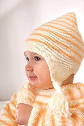 Set aus Mütze, Fäustlingen und Socken – kostenlose Strickanleitung