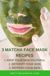 3 Matcha Face Mask Recipes To Beautify Your Skin