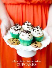 Schokoladenkeks-Parfaits & Cupcakes