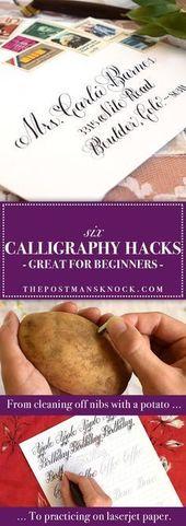 6 Hilfreiche Kalligraphie-Hacks