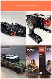 LEGO MOC-22970 Ford Mustang Hoonicorn V2 (Technik & Modell 2019) | Rebrickable – …   – legos