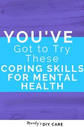 Try these for Anxiety or Stress…They are the best COPING SKILLS for adults. GR… – Self Care | Mental Health Group Board