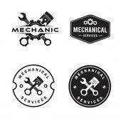 Mechanic Logo Set, Services, Engineering, Repair | Download now Premium vectors on Freepik