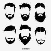 Hand Drawn Black And White Line Drawing Beard And Beard Hand Painted Moustache Beard Png Transparent Clipart Image And Psd File For Free Download Beard Drawing Black And White Lines Line Drawing