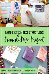 Nonfiction Text Structures & Features Cumulative Assignment