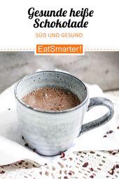 Photo of Gesunde heiße Schokolade