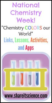 National Chemistry Week 2015: Chemistry Colors our World 2