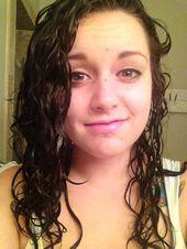 Step 1 Wet Yo Hair Overnight Hairstyles Wet Hair Overnight Hair