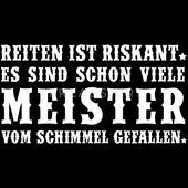 Schimmelreiter Männer Premium T-Shirt – Schwarz