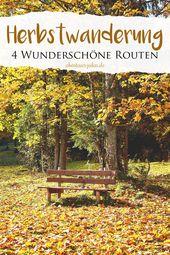 Diese 4 Herbstwanderungen in Bayern sind genau das Richtige für alle Freunde de…