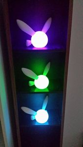 Navi LED Light 7 different color settings from AFKforCosplay at Etsy