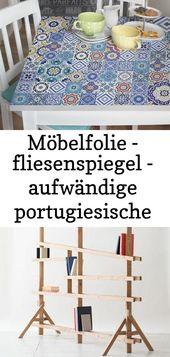 Möbelfolie – fliesenspiegel – aufwändige portugiesische fliesen – möbel klebefolie 10