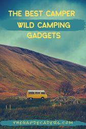 Si vous aimez le camping sauvage en camping-car, sachez qu'avoir le bon kit   – Wild Camping Tips & Tricks