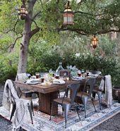 Ideas de patio: tres looks de cadera   – Garten + Terrasse