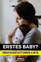 Baby-Erstausstattung: komplette Liste zum Download