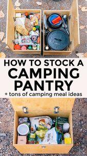 Comment stocker un garde-manger de camping   – camping