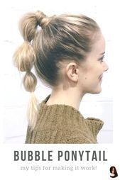 New Free of Charge Ponytail Hairstyle messy Strategies  A ponytail won't just must be a hair do they even make on the gym. This specific versatile u…
