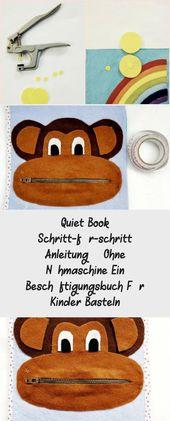 Quiet Book Schritt-für-Schritt Anleitung – ohne Nähmaschine ein Beschäftigu…