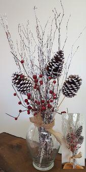 Photo of Atemberaubende 43 aufregende Weihnachtsdekorationsideen für Ihre Wohnung. Tannenzapfen …