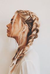 Braids – #hairstyle hair # braids