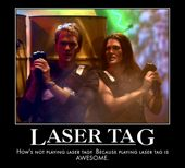 Even Barney Stinson thinks laser tag is awesome    www.stratumhq.com