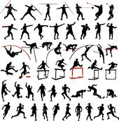 mix clipart black and white. free sports track and field clipart clip art pictures graphics illustrations pinterest classroom fields mix black white t
