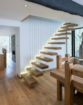 Cantilever Staircase – 40 Modern Design Ideas – House Decoration More