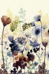 Artland Poster oder Leinwandbild »Grace Popp: Sonnengetrocknete Blüten I« – #Artland #Blüten #Grace #Leinwandbild #oder