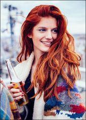 Rote Haare: 10 wunderschöne Frisuren in einem tollen Rotton … – Damen Style