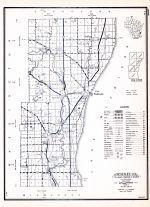 Historic Map Ozaukee County Atlas Wisconsin State Atlas 1956 Highway Maps Wisconsin