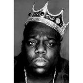 Art Poster 063 Biggie Smalls BIG and 2Pac Tupac Black White Star